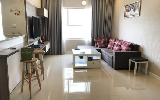 Apartment for rent in District 7, Sunrise City, 2 Bedrooms, High floor, $1050