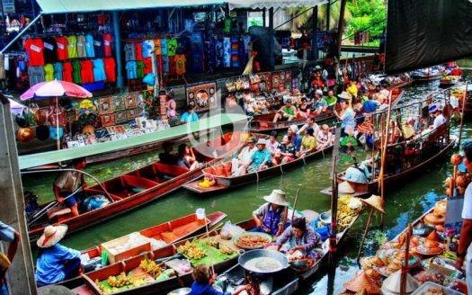 Floating market Cai Rang
