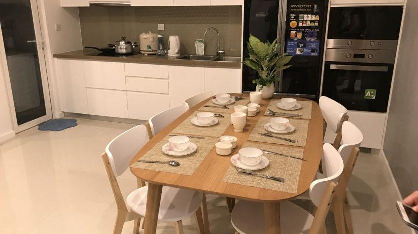 Nice Apartment for rent at Sala Dai Quang Minh apartment, District 2, 2BRs, full furniture, $1200