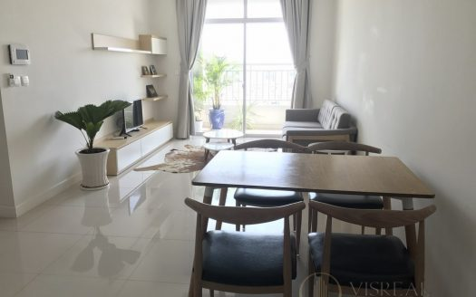 Apartment with balcony in the living room, 3 BRs, City center in Prince Residence apartment