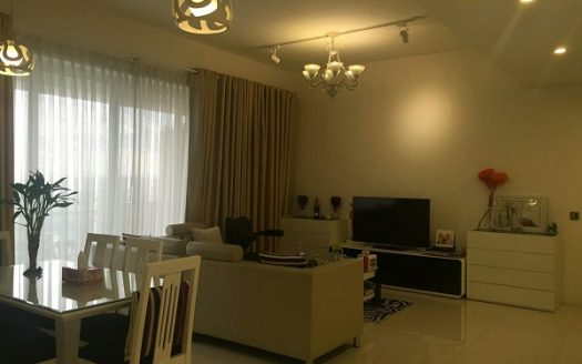 Estella apartment for rent with 2Brs, on 18th Floor, Full Furniture, Dist.2