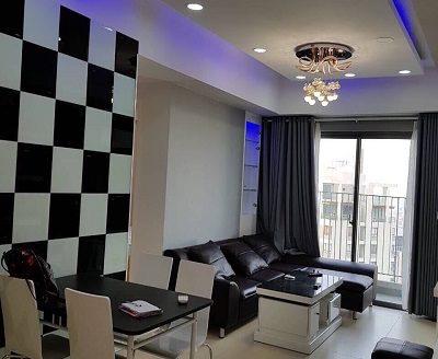 Masteri Thao Dien- 2Bedrooms, Modern, High Floor , 71sqm, 900USD.