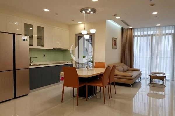 Modern styles 2Brs apartment for rent in Vinhomes Central Park, Park 7