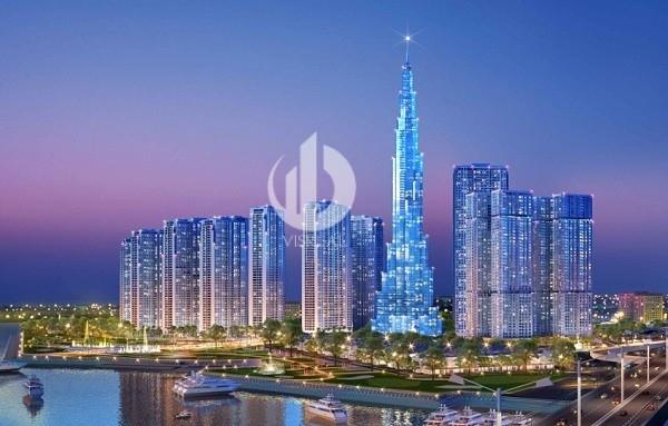 Landmark 81 - The tallest building in Vietnam at Vinhomes Central Park Apartment