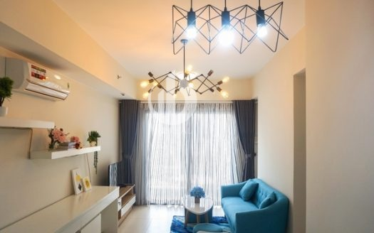 Masteri Thao Dien Apartment - Nice interior, two bedrooms with good price.