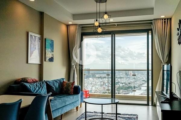 Gold View Apartment -Nice interior design, romantic city view.